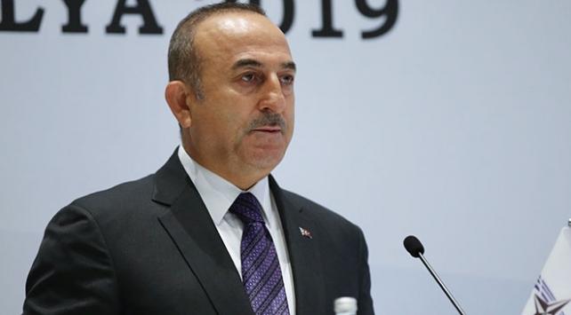 Cezayirlilerden Dışişleri Bakanı Çavuşoğluna büyük destek