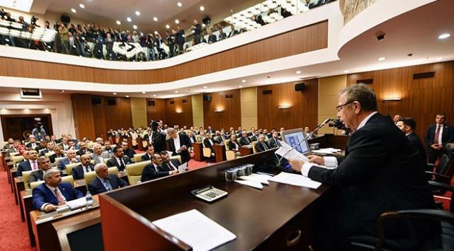 Ankara Büyükşehir Belediye Meclisi Mansur Yavaş başkanlığında toplandı