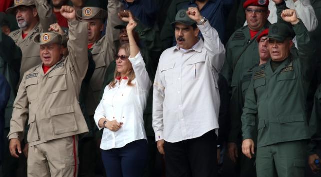 Venezuelada Bolivarcı Milis Gücünün sayısı 2 milyonu aştı