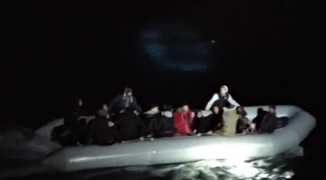 Kuşadasında 34 düzensiz göçmen yakalandı