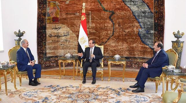 General Halife Hafter, Sisi ile görüştü
