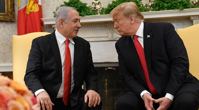 ABD Başkanı Trumptan İsrail Başbakanı Netanyahuya Çin uyarısı