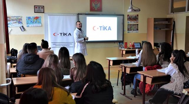 TİKAdan Karadağda eğitime destek