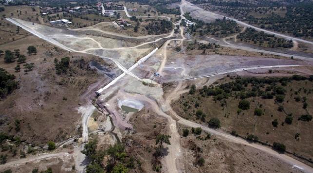 Sarma Barajının yarısı tamamlandı
