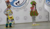 Anaokulu öğrencileri atık malzemelerden kostüm yaptı
