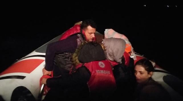 Muğlada 13 düzensiz göçmen yakalandı