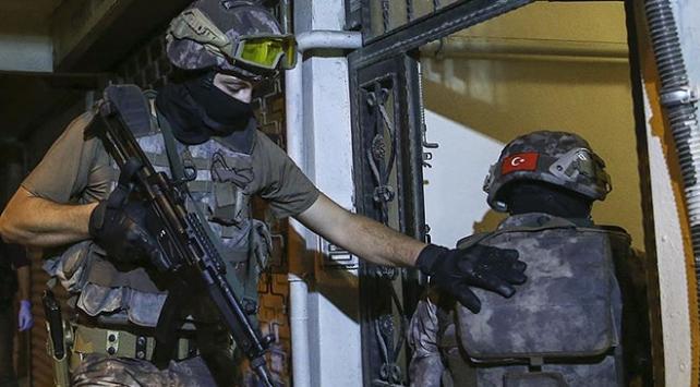 İstanbulda 150 adrese eş zamanlı uyuşturucu baskını: 152 gözaltı