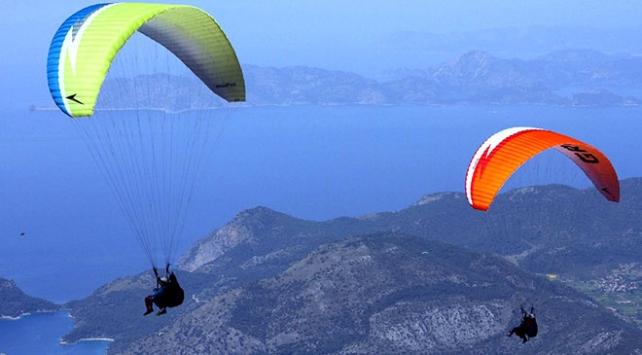 Türkiye'nin yamaç paraşütü rotaları