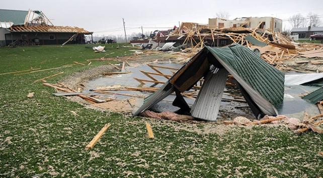 ABDde fırtına: 8 kişi hayatını kaybetti