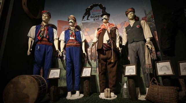 Güreş tarihine ışık tutan müze