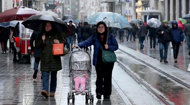 İstanbulda yağışlar yarın da sürecek