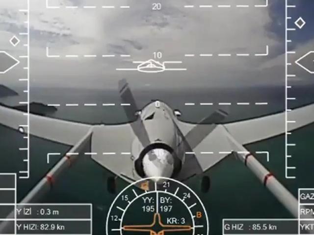 Deniz Kuvvetlerinin SİHA'sı Akdeniz semalarında