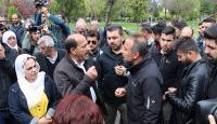 Diyarbakır'da izinsiz açıklama yapmak isteyen gruba müdahale