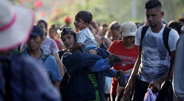 Meksika Huixtlada göçmen konvoyuna karşı olağanüstü hal ilanı