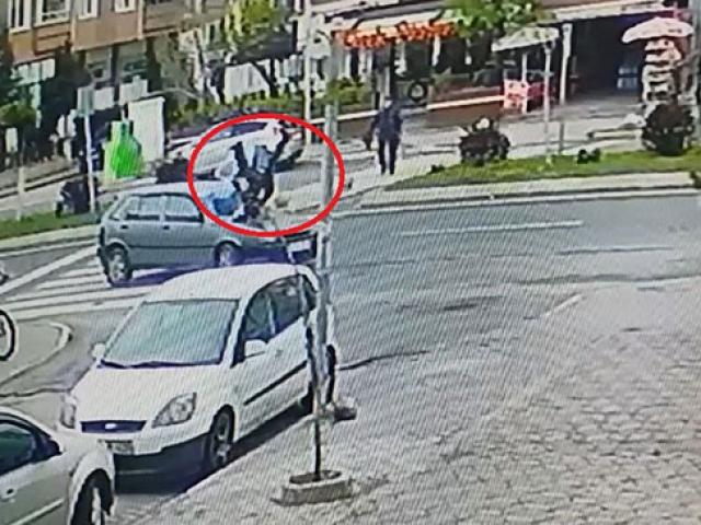 Kazada metrelerce havalanan adamın tek bir kemiği dahi kırılmadı