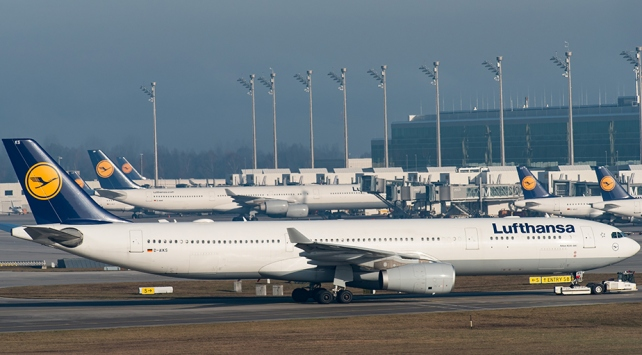 Alman havayolu şirketi Lufthansa'dan ilk çeyrekte 336 milyon euro zarar