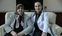 Akciğer tansiyonu hastasına ilaçlı tedavi