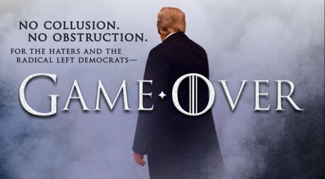 ABD Başkanı Trumptan ikinci Game of Thrones konseptli paylaşım