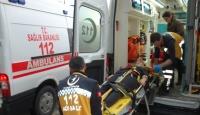 Tekirdağ'da öğrenci servisi devrildi
