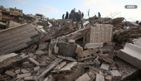 İsrail askerleri, tutuklu bir Filistinlinin evini yıktı