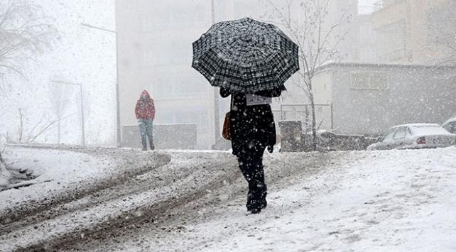 Meteorolojiden 4 kente kar uyarısı
