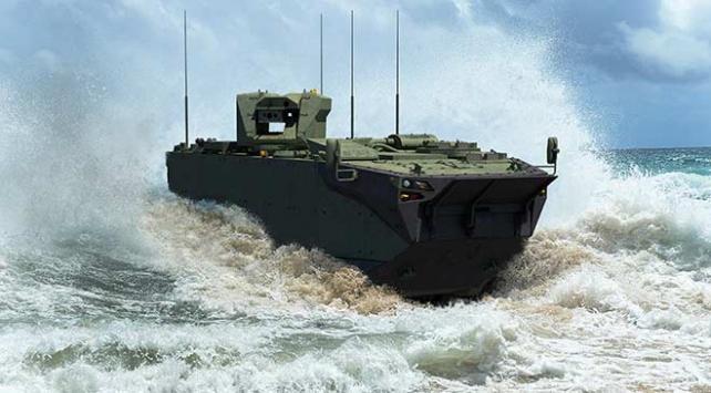 Zırhlı Amfibi Hücum Araçları (ZAHA) ilk kez IDEF19da sergilenecek