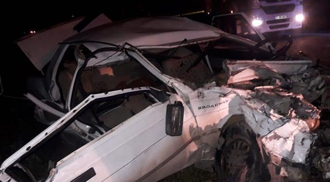 Şanlıurfada iki otomobil çarpıştı: 9 yaralı