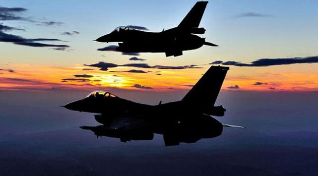 Irak savaş uçakları uluslararası koalisyonla operasyonda