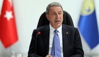 Bakan Akar: Gayri askeri adaların silahlandırılması uluslararası hukukun ihlalidir