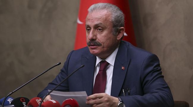 TBMM Başkanı Şentop: Türkiye terörle mücadelesini kararlılıkla sürdürecektir