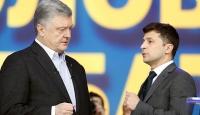 Poroşenko ile Zelenskiy seçim öncesi son kozlarını paylaştı