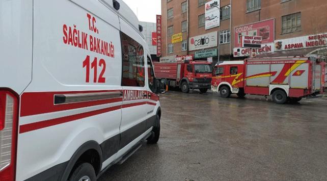 Ankara Mobilyacılar Sitesinde yangın