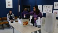 Kuzey Makedonya'da halk cumhurbaşkanlığı seçimi için sandık başında