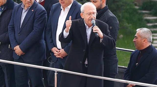 CHP Genel Başkanı Kılıçdaroğlu: Bana yapılan saldırı, Türkiyenin birliğine yapılmıştır