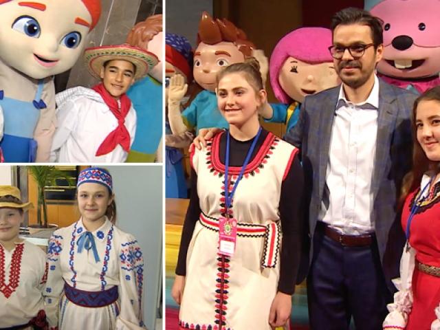 40 ülkeden 800 çocuk TRTye konuk oldu