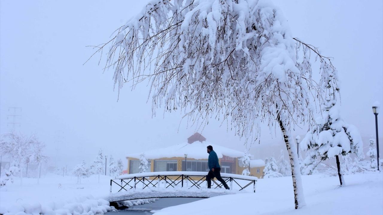 Kar yağdı, 82 yerleşim yerinin yolu kapandı