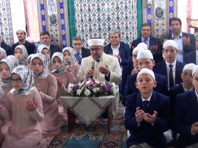 Batı Trakya'daki Müslüman Türk azınlıklar hatim töreni düzenledi