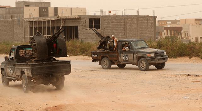 Libyada Hafter güçleri batı cephesinde kan kaybediyor