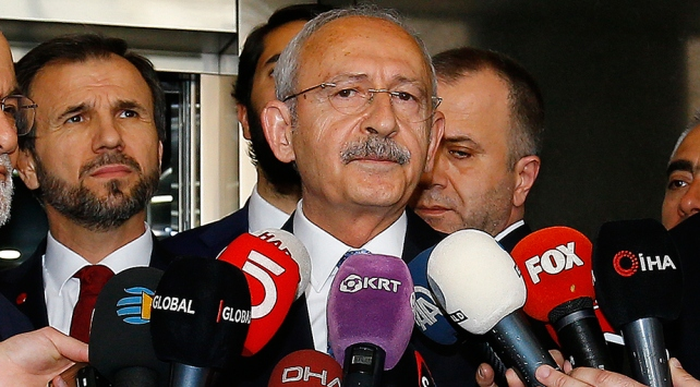 CHP Genel Başkanı Kılıçdaroğlu: Failler yakalanıp adalete teslim edilmeli