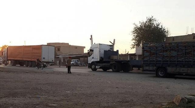 ABDden YPG/PKKnın işgalindeki bölgeye yeni sevkiyat