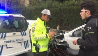 Kask denetimlerinde 546 araç trafikten men edildi
