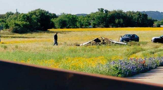ABDde küçük uçak düştü: 6 ölü