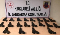 Kırklareli merkezli kaçak silah operasyonu: 4 gözaltı
