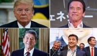 Politikaya atılıp liderlik yapan ünlü isimler
