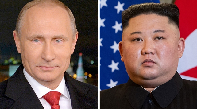 """""""Kim Jong-un ile Putin 25 Nisanda bir araya geliyor"""""""