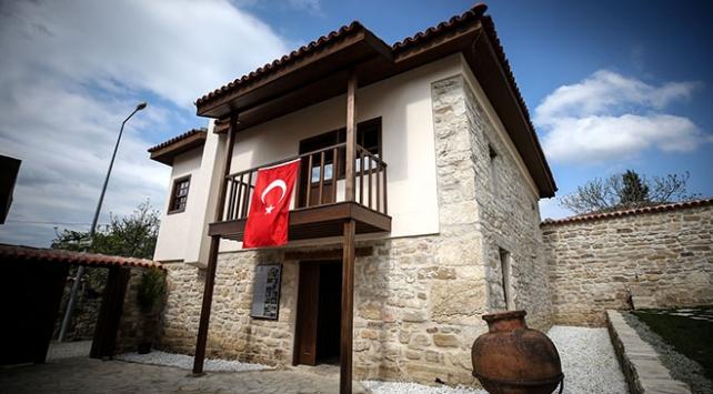 """1915te karargah olarak kullanılan """"Atatürk Evi""""ne ziyaretçi akını"""