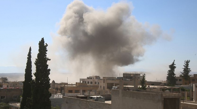 İdlibe hava saldırısı düzenlendi