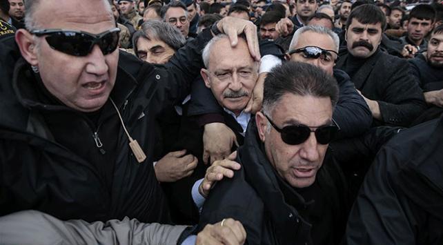CHP Genel Başkanı Kılıçdaroğlu kendisine saldıranlardan şikayetçi oldu