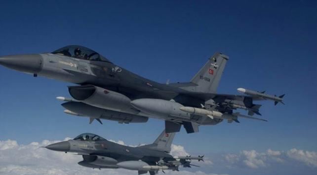 Irakın kuzeyindeki terör hedefleri imha edildi