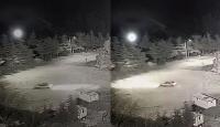 Karda drift yapan sürücüye 5 bin lira ceza